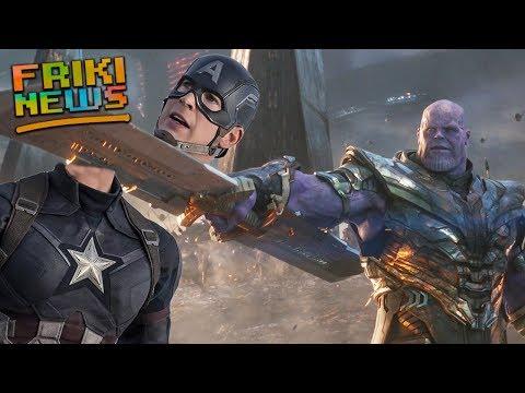 ESCENA ELIMINADA de AVENGERS ENDGAME: ¡Thanos se lleva la cabeza de Steve! + San Diego Comic Con
