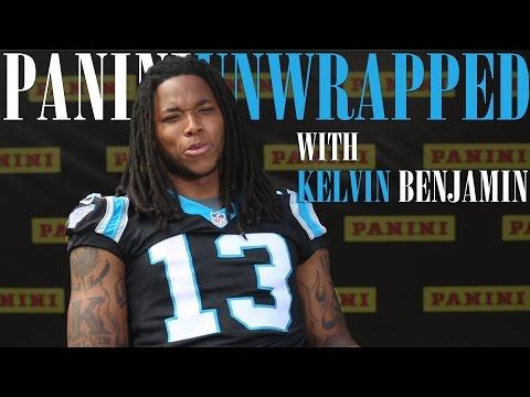 The Panini America Interview: Carolina Panthers WR Kelvin Benjamin
