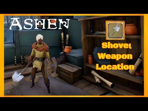 ASHEN - Broken Shovel Weapon Location thumbnail