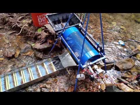 Gold Mining. New Trommel