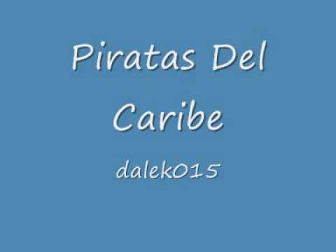 milla nautica agradable Fruncir el ceño  BSO Piratas Del Caribe - la maldicion de la perla negra - - YouTube