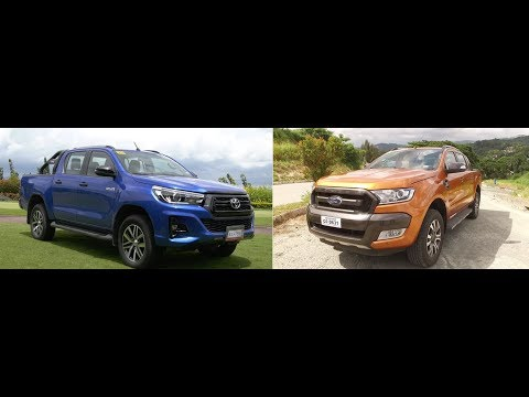 Auto Focus | Head To Head: Toyota Hilux Conquest Vs Ford Ranger Wildtrak