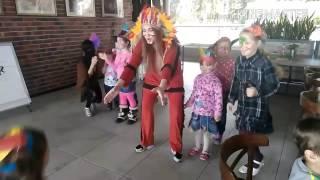 Челленджи с индейцами Детский Праздник Ресторан у Моря