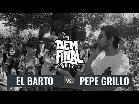 PEPE GRILLO vs. EL BARTO: Octavos - DEM Final Season 2017