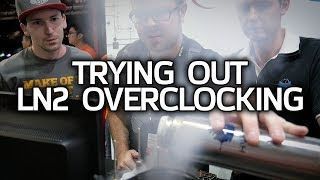 I Do LN2 Overclocking Now, also GSkill High-Speed DDR4 & Peripherals!