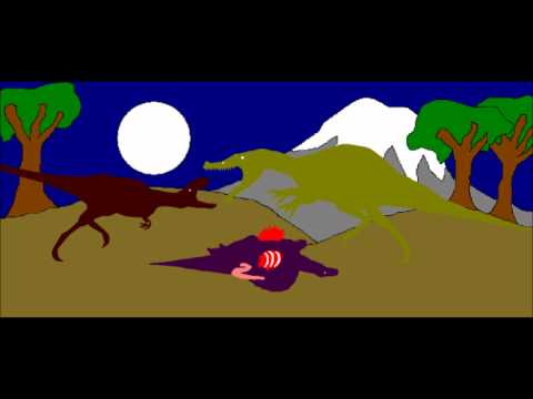 Pivot Art: Appalachiosaurus vs Angatuerama.wmv
