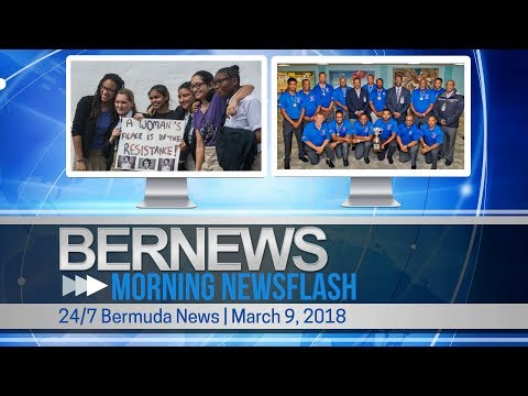 Bernews Newsflash For Friday March 9, 2018