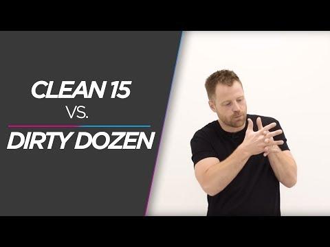 Clean 15 VS. Dirty Dozen