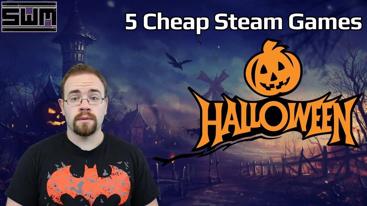 5 Cheap Steam Games To Play On Halloween! (Steam Halloween Sale)