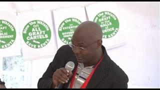 Davis Malombe speech on Katiba day