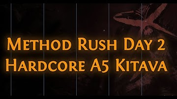 [Path of Exile Ladders] Method Rush Day 2 Race 7:  Act 5 Kitava - Top 20 - All Classes
