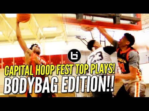 Brendan Adams Opens AAU Season with a BANG! Capital Hoops Fest Top Plays!