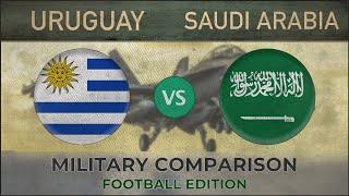 URUGUAY vs SAUDI ARABIA - Army Comparison - 2018 (FOOTBALL EDITION)