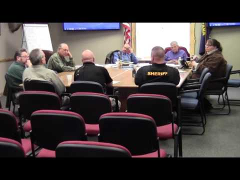 Mineral County Montana Commissioners' meeting March 2, 2017