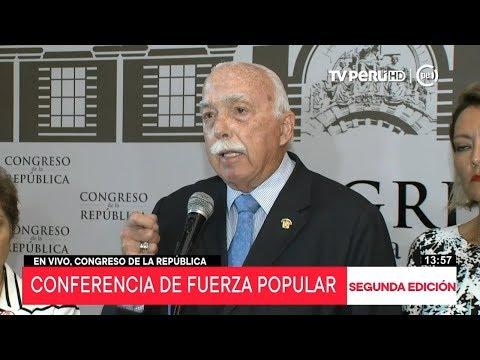Fuerza Popular no presentará moción de censura al ministro de Justicia