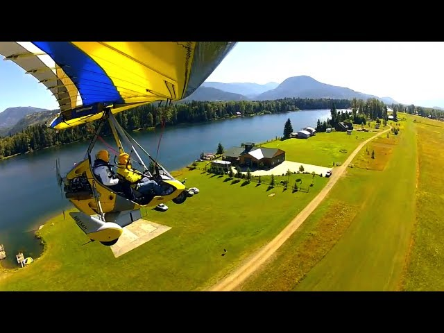 Beautiful Flight to Clark Fork River and Delta Area