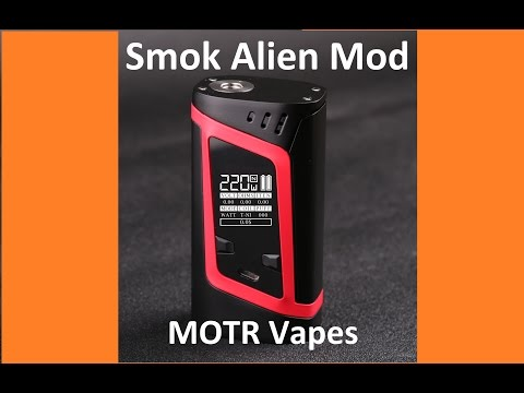 Smok Alien Mod Review tutorial