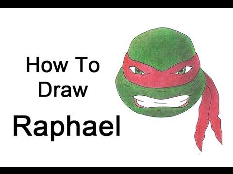 How to Draw Raphael from Teenage Mutant Ninja Turtles ...