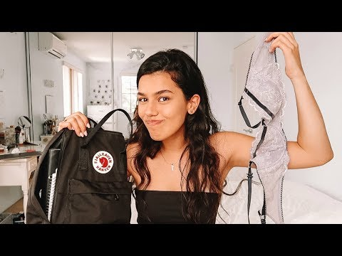 what's in my backpack 2018 (end of junior year)