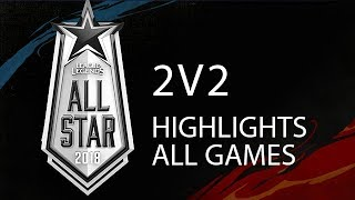 All Star 2018 2v2 Highlights ALL GAMES Full Tournament + Winners Interview