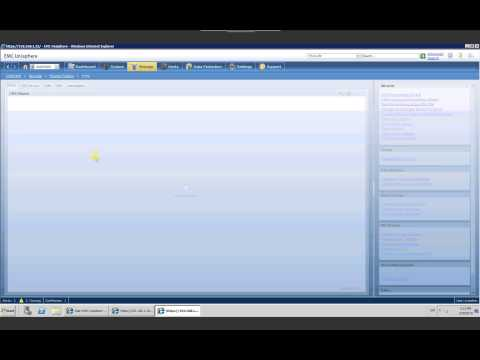 How to use EMC Unisphere for VNX