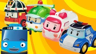 Robocar Poli Cars & Tayo the Little Bus Toy