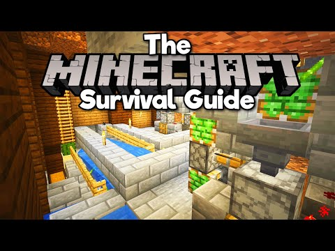 Bamboo Powered Auto-Smelter! ▫ The Minecraft Survival Guide (Tutorial Let's Play) [Part 283] thumbnail