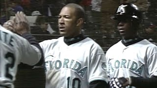 WS1997 Gm3: Marlins score seven in top of the 9th
