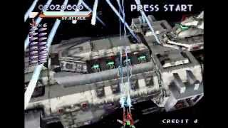 Raystorm (PS1) Gameplay - Training Mode