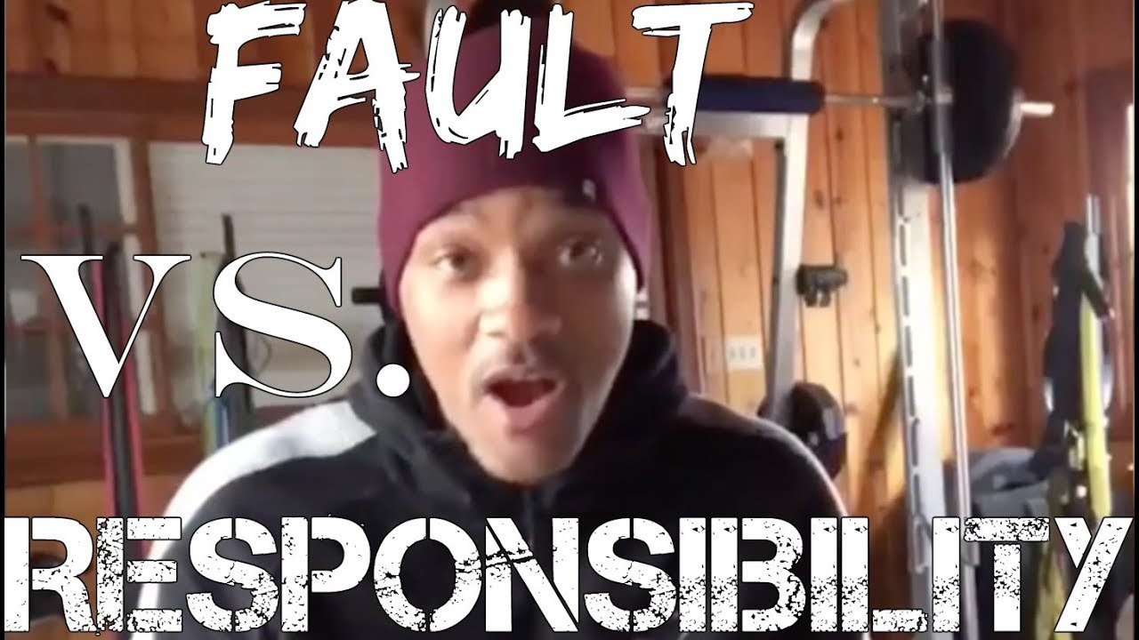 Fault Vs Responsibility by Will Smith FULL SPEECH