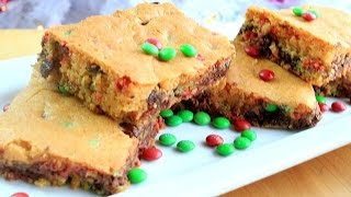 How To Make Cake Mix Cookie Bars | Simplybakings