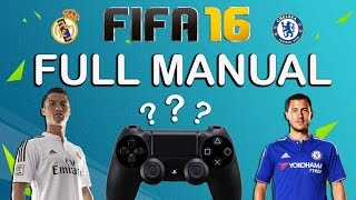 FIFA 16 Full Manual Control - Real Madrid vs Chelsea - PS4 Gameplay