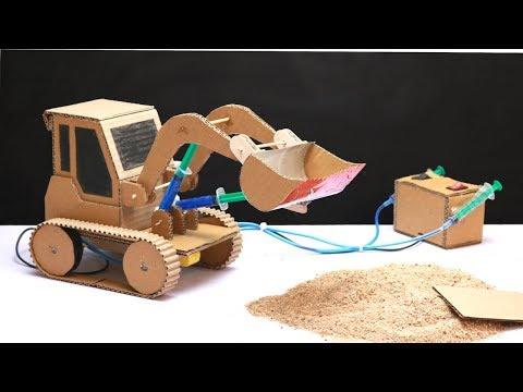 How To Make JCB Bulldozer At Home