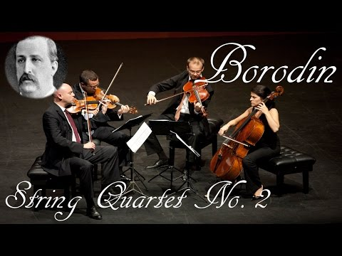 🎼 Alexander Borodin String Quartet no 2  Classical Music for Relaxation and Concetration