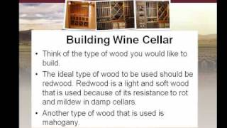 Building Wine Cellar Part 2 Of 4