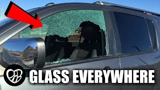 Someone Broke into Our Car at the Park *shattered window* 😲 Remembering When!
