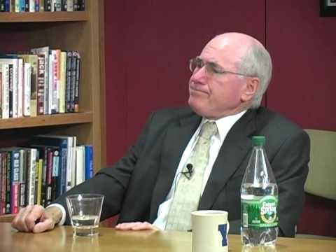 John Howard talks about leadership with Dean Williams at Harvard
