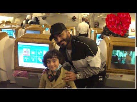 قابلنا تامر حسني في دبي علي متن طيران الامارات