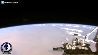 NASA Monitors Brown UFO Hiding In Space Above Earth! 5/8/16