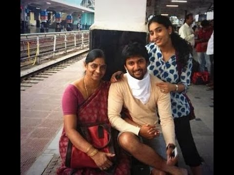 Actor Nani With Family Video Youtube