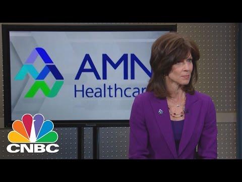 AMN Healthcare Services CEO: Hospital Headhunter | Mad Money | CNBC