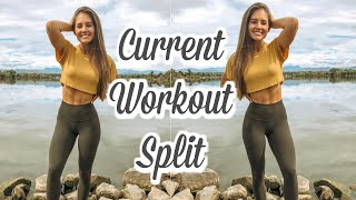 My Workout Schedule and Split