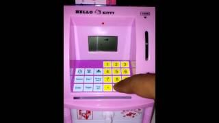 Celengan ATM Mini