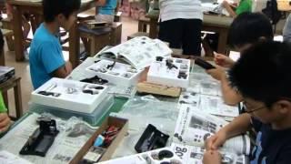 東郷少年少女サイエンスクラブ8月教室で、エジソン蓄音機を作りました!...