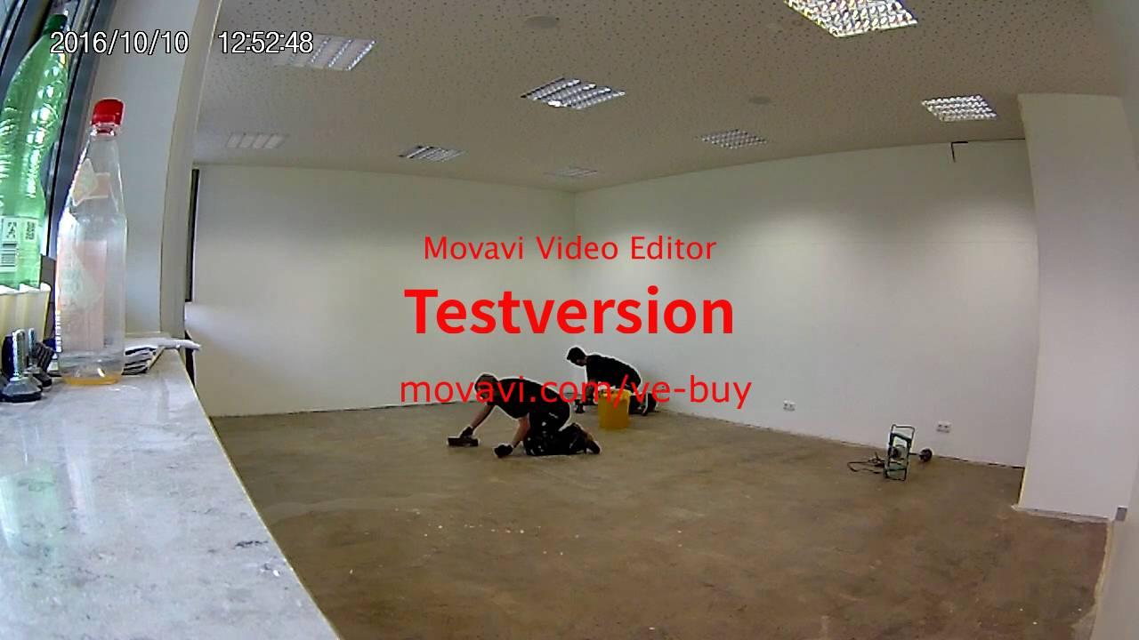 Boden Spachteln Wenig Material Glatte Oberflache Youtube