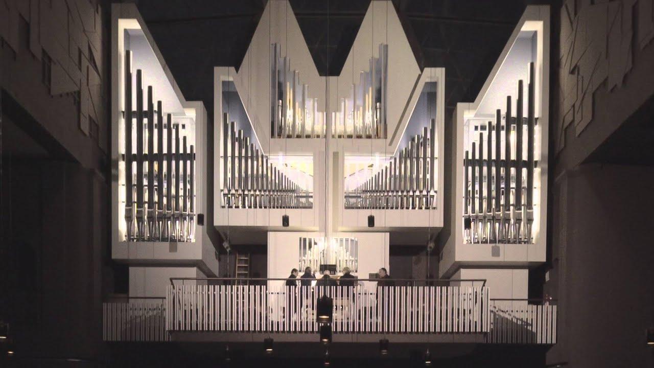 Hermann Nitsch Orgelkonzert Berlin 2016 Youtube