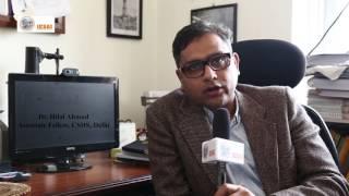 Dr Hilal Ahmad on IESAI 2017 Video