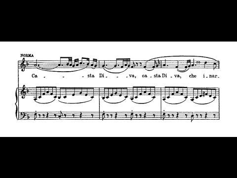 Casta Diva: Adalgisa Gabbi (1903) - Celestina Boninsegna (1904)