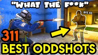 DISAPPEARING MAN *CHEATER ?* - CS:GO BEST ODDSHOTS #311