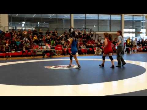 2015 Junior National Championships: 51 kg Bronze Rachel Alder vs. Farah Taj